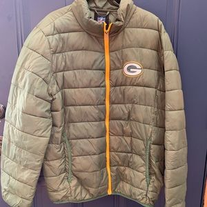 Green Bay Packer Light Puffer Jacket